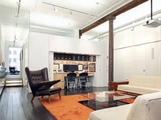 Greene Street Loft Industriale Arbeitszimmer von Slade Architecture Industrial