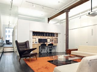 Greene Street Loft Industrial style study/office by Slade Architecture Industrial