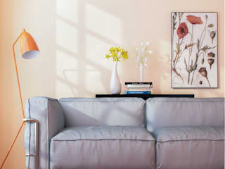 Soft Living Room di Gianluca Muti Interior & 3D Designer Moderno