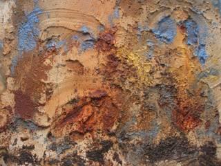 Vulkaan form. 800 x 1200 mm linnen VERKOCHT :   door Grothausen BNI