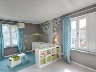 Nursery/kid's room by 28 Grad Architektur GmbH