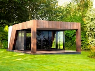 Luxury garden room - gymnasium Jardines de estilo moderno de The Swift Organisation Ltd Moderno