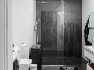 Loft w Łodzi: styl , w kategorii Łazienka zaprojektowany przez I Home Studio Barbara Godawska