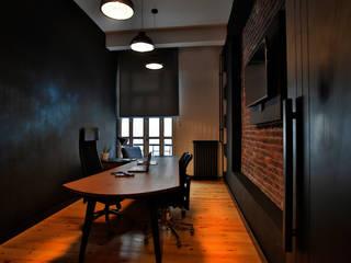 Espaces de bureaux industriels par NM Mimarlık Danışmanlık İnşaat Turizm San. ve Dış Tic. Ltd. Şti. Industriel