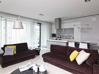 Minimalistische Wohnzimmer von I Home Studio Barbara Godawska Minimalistisch