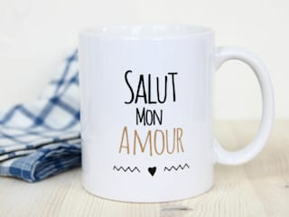 MUG - Salut Mon Amour par So MUG Minimaliste