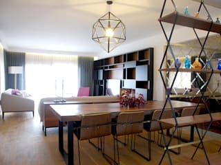 HOUSE MFN Modern Oturma Odası GOA / gulnar ocakdan archıtecture Modern