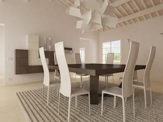 Dining room by UNIT Studio,