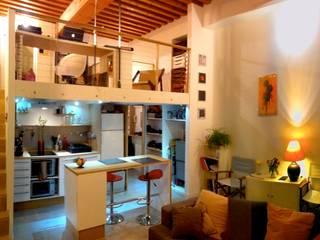Appartement Rue Diderot Lyon 01:  de style  par L'atelier d'archi' Serge Hivar,