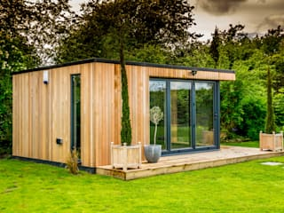 Stunning garden room suite Jardines de estilo moderno de The Swift Organisation Ltd Moderno