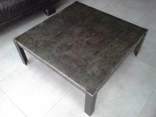 Meuble industriel table basse acier:  de style  par M. Déco Industriel