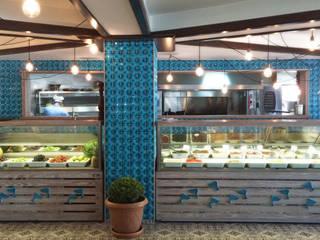 GOA / gulnar ocakdan archıtecture – göl balık fish restaurant:  tarz Yeme & İçme