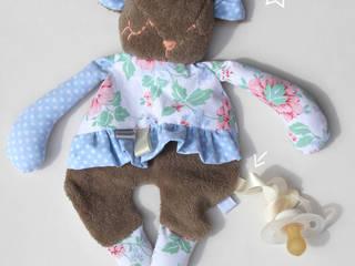 Doudou Plat -Mouton- doudou/peluche pour bébé, tissu recyclé, personnalisable:  de style  par likeyoudesign
