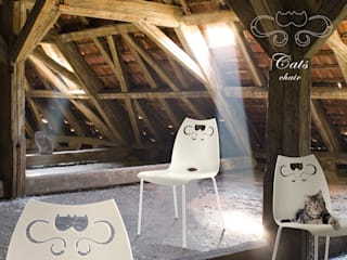 Cats  chair:  in stile  di dimarziodesign