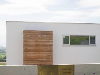 Wohnhaus am See Moderne Häuser von GMS Freie Architekten Isny / Friedrichshafen Modern