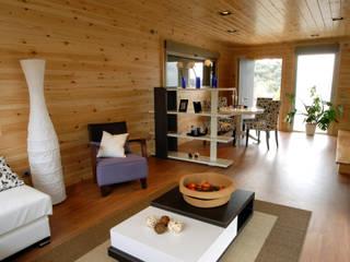 Livings de estilo moderno de Casas Natura Moderno