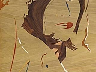 Jennifer par ciamarone marqueterie d'art Moderne