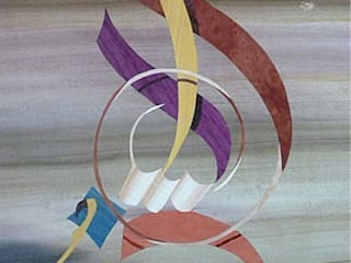 Le rossignol ne construit pas son nid dans une cage par ciamarone marqueterie d'art Éclectique
