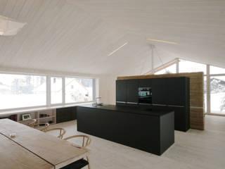 traditionell modern bauen:  Küche von Arc Architekten Partnerschaft