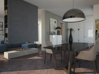 Villa BP Benevento Soggiorno moderno di ANTONIO VITIELLO Moderno