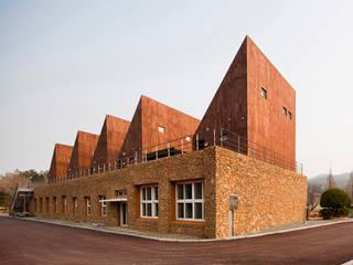 (주)오우재건축사사무소 OUJAE Architects Modern Houses