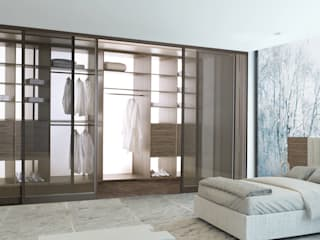 Modern Dressing Room by PANAGET Modern