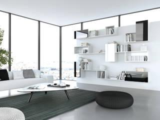 Bibliothèque modulaire et évolutive:  de style  par PANAGET