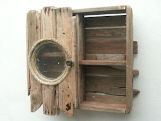 Driftwood wall cabinet:   by Julia's Driftwood