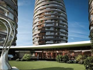 Selenium Atakoy Modern houses by REDWHITE CA Modern