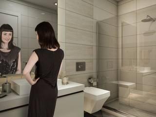 Nurol Modern bathroom by REDWHITE CA Modern