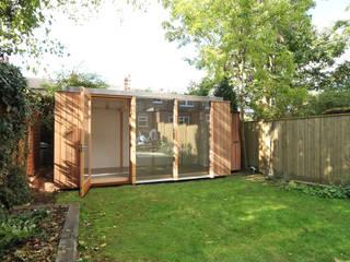 3 Bay modular garden room Modern Garden by 3rdspace Modern