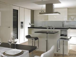 """Privat Residenz """"Les Dents du Midi"""" Moderne Esszimmer von Innenarchitektur und Design Dalpiaz Modern"""