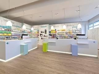 Lindenapotheke, Oberentfelden Moderne Ladenflächen von Brem+Zehnder AG Modern