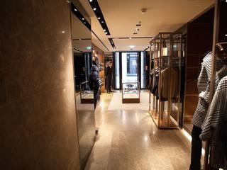 Oficinas y tiendas de estilo moderno de SCHUBERT STONE GmbH Moderno