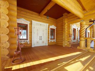 Гостевой дом, гостиница в Русском стиле Дома в рустикальном стиле от ODEL Рустикальный