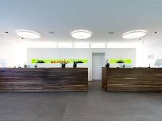 Raiffeisenbank, Wohlen Brem+Zehnder AG Moderne Geschäftsräume & Stores