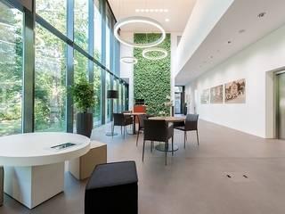 Raiffeisenbank, Wohlen Moderne Geschäftsräume & Stores von Brem+Zehnder AG Modern