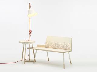 «GINA, MONI & FRANK» – Möbelserie: modern  von Mizko Design,Modern