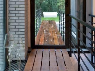 Modern Terrace by Marek Rytych Modern