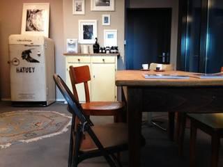 Eine gemütliche Kaffee Ecke für Kunden:  Geschäftsräume & Stores von Hektor living