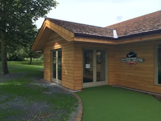 Nike Performance Fitting Centre, East Lothian Scandinavian style event venues by Aitken Turnbull Architects Scandinavian