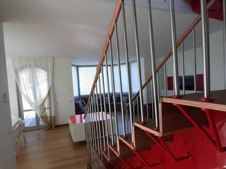 Emilia Barilli Studio di Architettura Corridor, hallway & stairsStairs