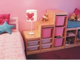 Traço Magenta - Design de Interiores Moderne Kinderzimmer