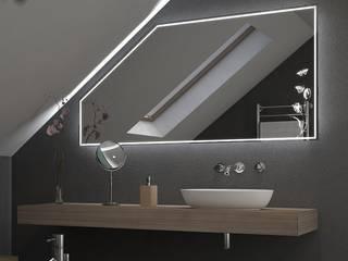 Spiegel für Dachschrägen: modern  von Lionidas Design GmbH,Modern