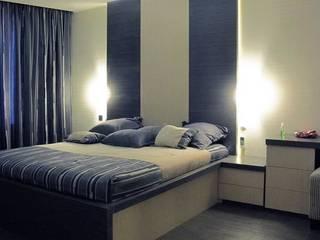 Квартира с мужским характером Спальня в стиле минимализм от Дизайн-студия Идея Минимализм