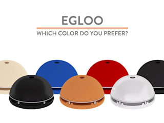 Egloo - Candle powered heater di Egloo Moderno