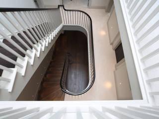 White Croft Zodiac Design Modern Corridor, Hallway and Staircase