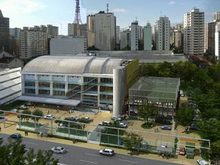 Academia Competition - unidade Paulista | Rua Cincinato Braga por ARQdonini Arquitetos Associados