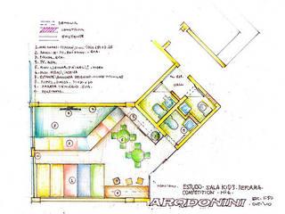 Academia Competition - unidade Higienópolis | Rua Dr. Albuquerque Lins por ARQdonini Arquitetos Associados