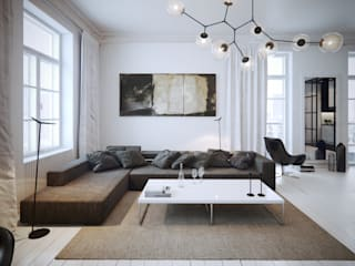Living room by OFD architects